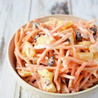 Carrot Salad with Raisins & Pecans