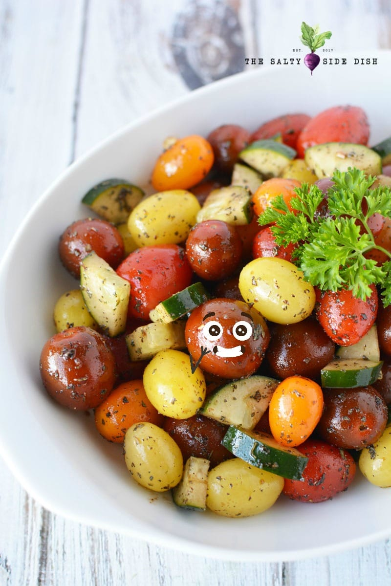 tomato salad recipe with balsamic