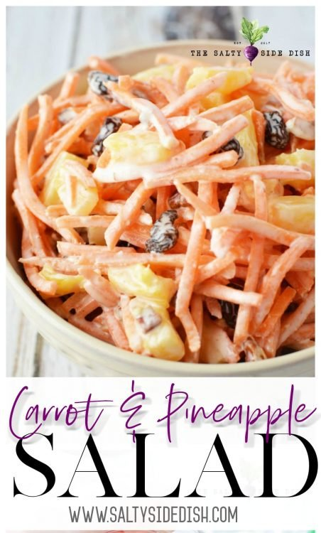 carrot and pineapple salad