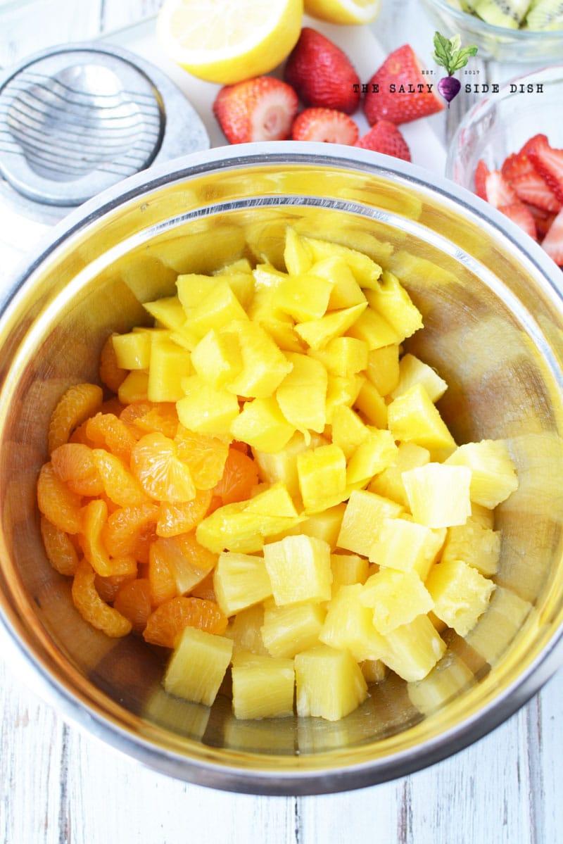mildly citrus fruit salad recipe