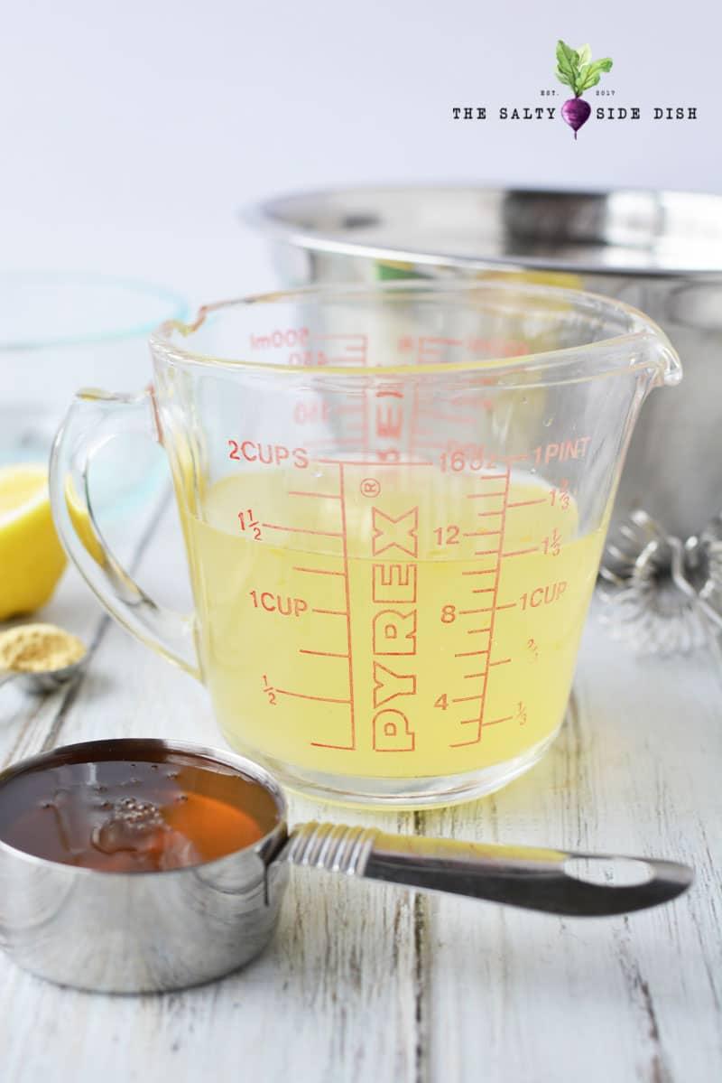 honey and lemon dressing