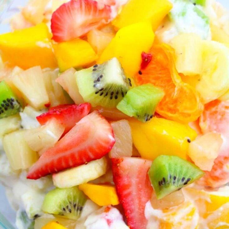best Hawaiian cheesecake salad