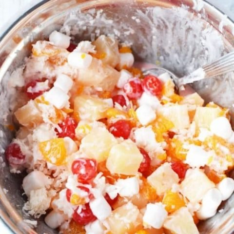 Ambrosia Salad Recipe with Cool Whip