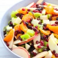 Fruit Salad with Sweet Homemade Dressing