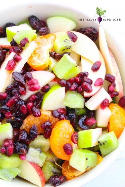 winter fruit salad side dish