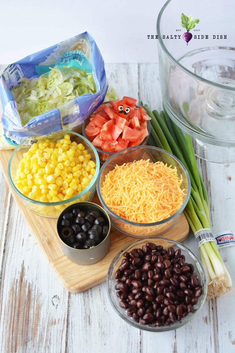 7 layered salad ingredients