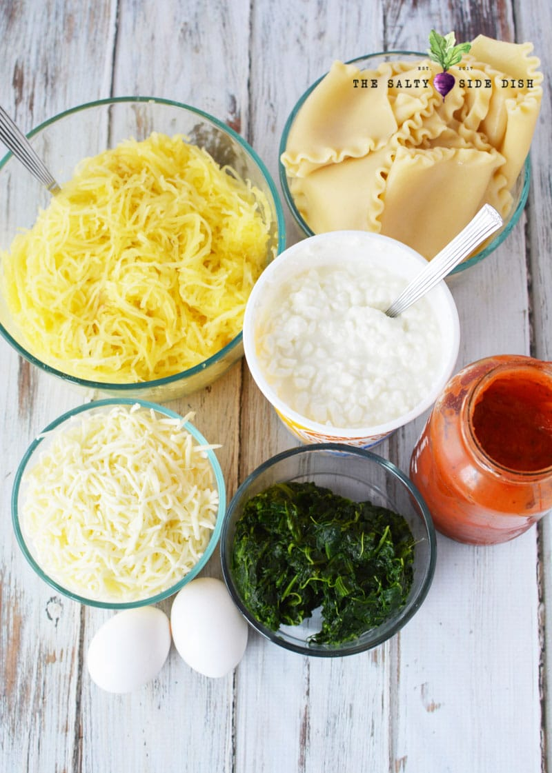 Spaghetti Squash ingredients