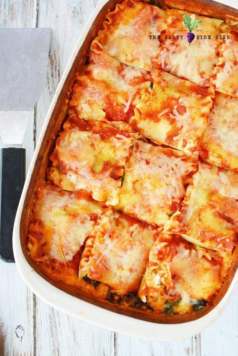 recipe for spaghetti squash lasagna