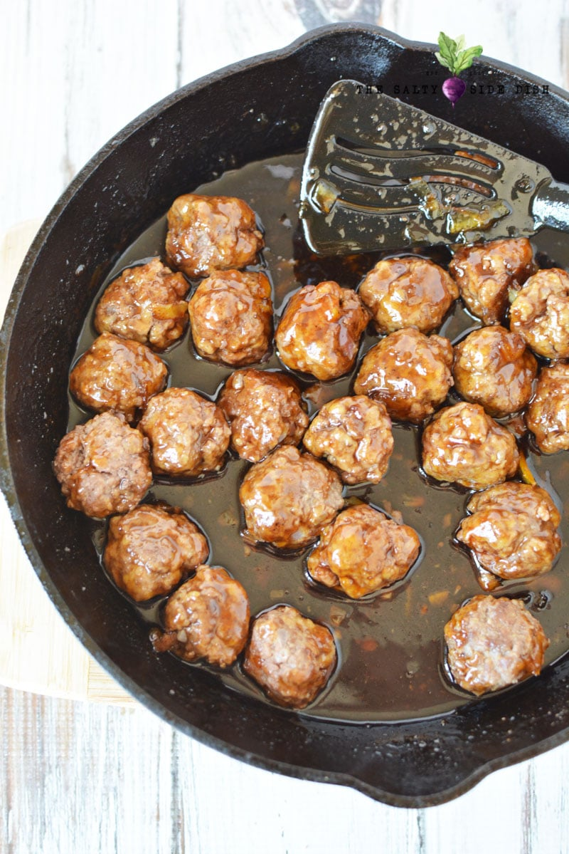 Cocktail Meatball recipe with jelly