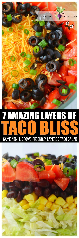 7 Layer Salad   Seven Layer Salad Classic Summer Salad Side Dish Recipe