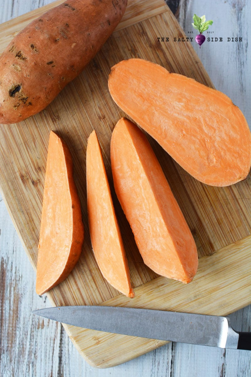 how to make sweet potato wedges