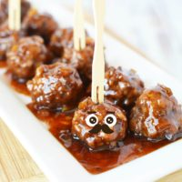 Cocktail Meatballs with Bourbon and Preserves