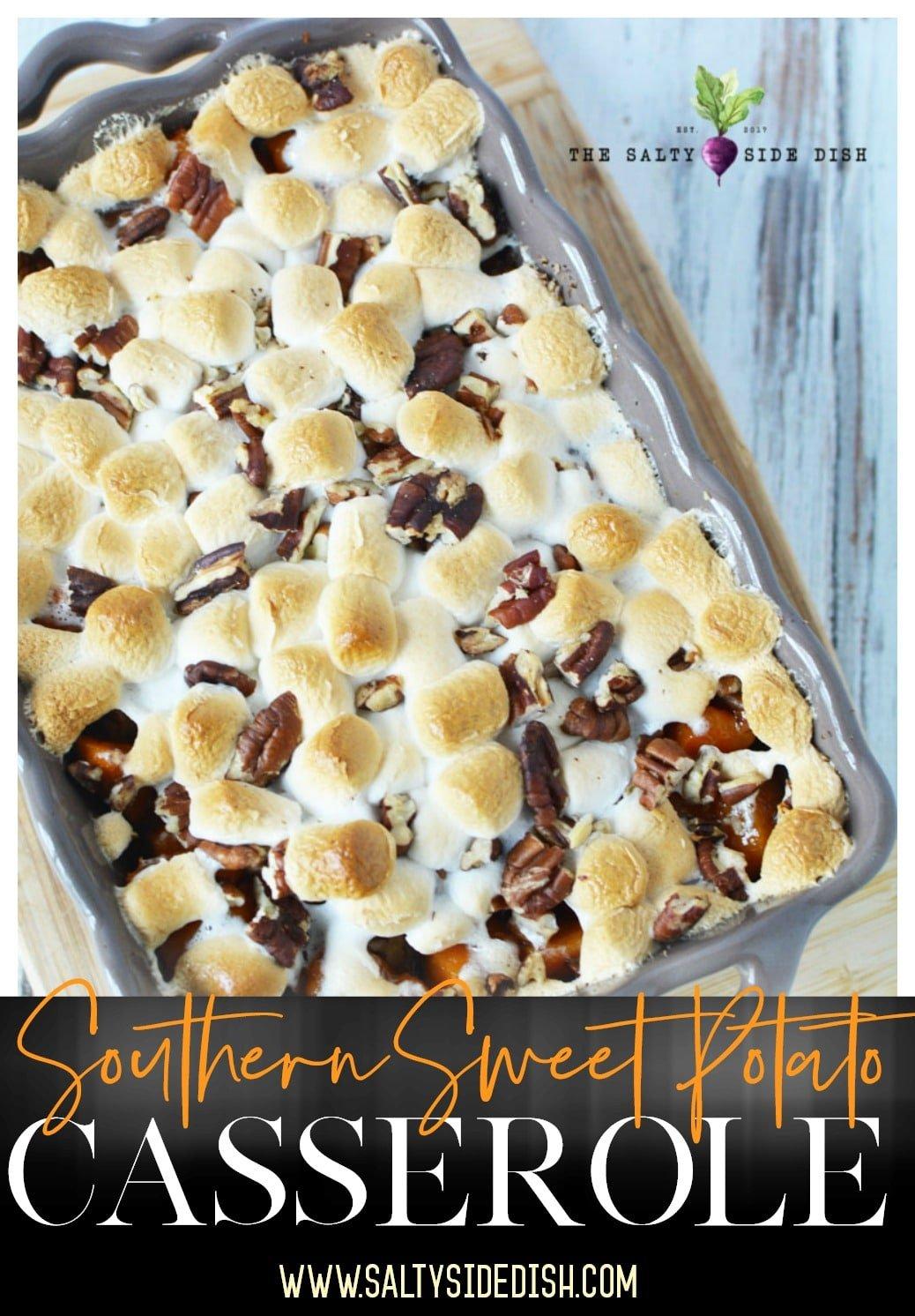 southern sweet potato casserole recipe
