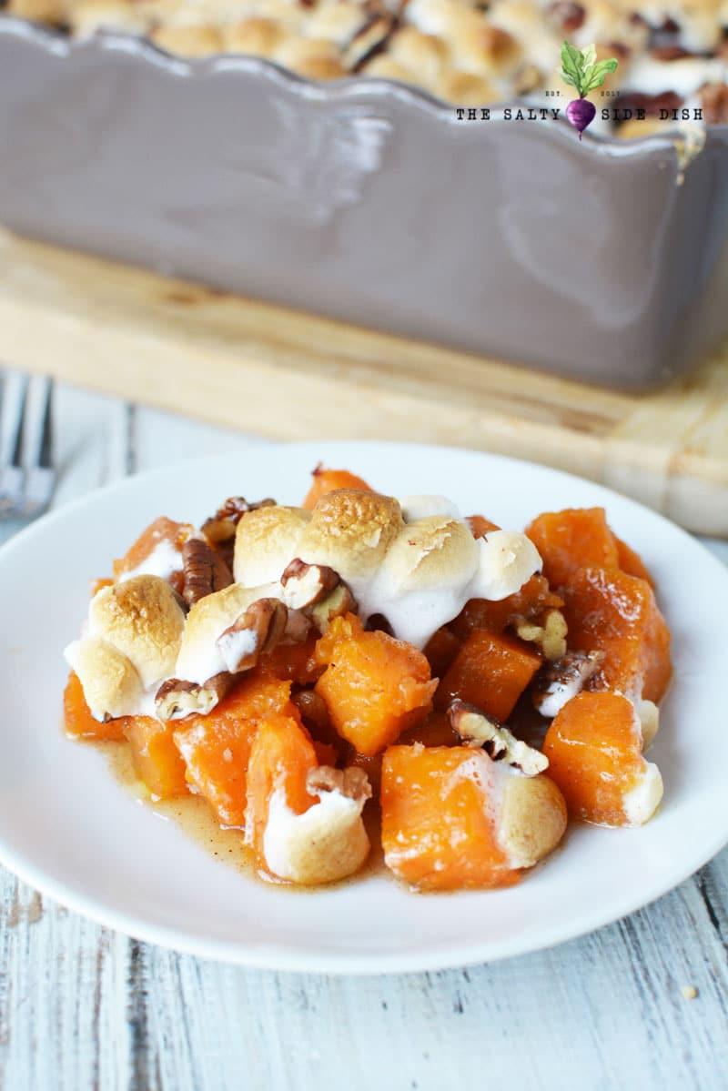 sweet potato casserole with pecans