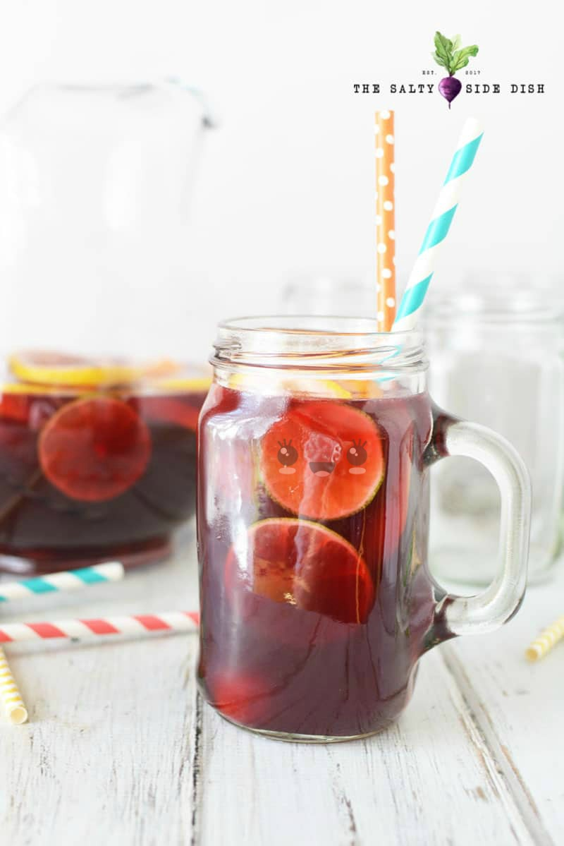 Summer Sangria recipe, make your own Homemade Sangria, a delicious summer sangria recipe with fresh citrus fruits