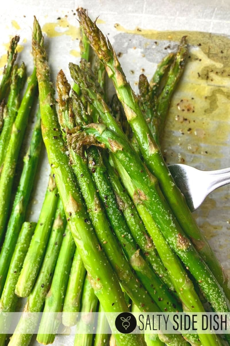 Garlic Roasted Asparagus KETO RECIPE