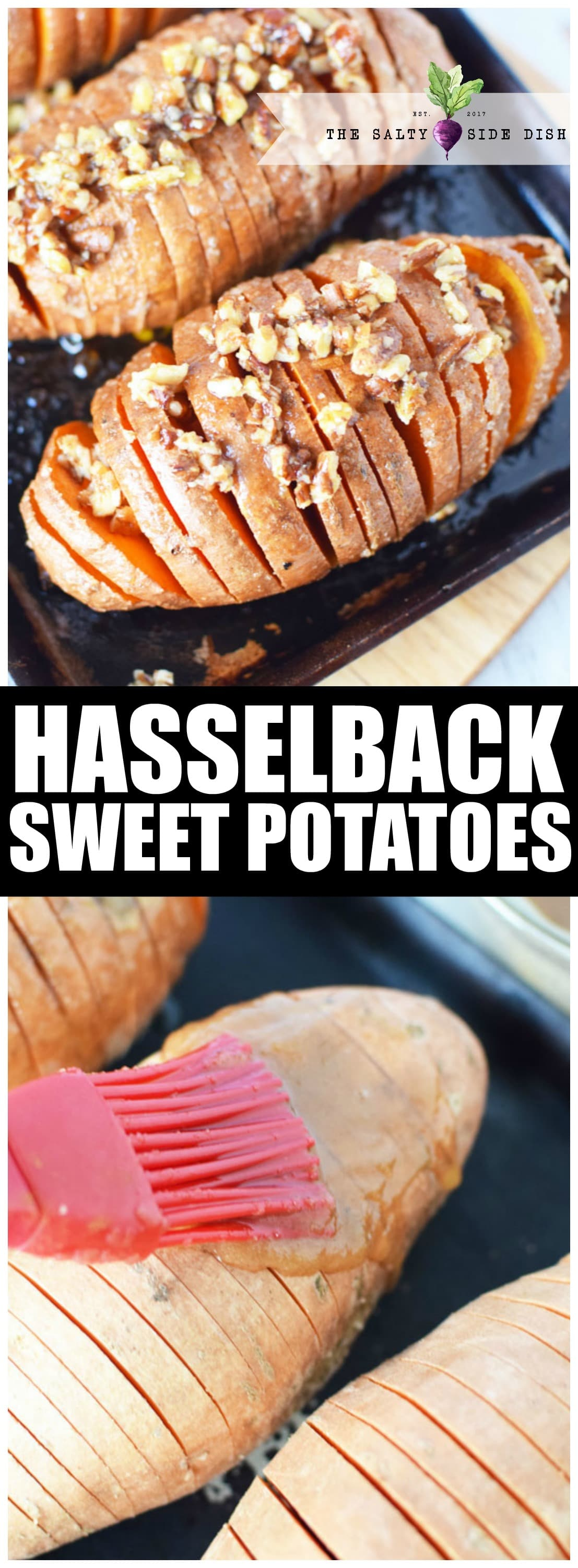 hasselback sweet potato recipe