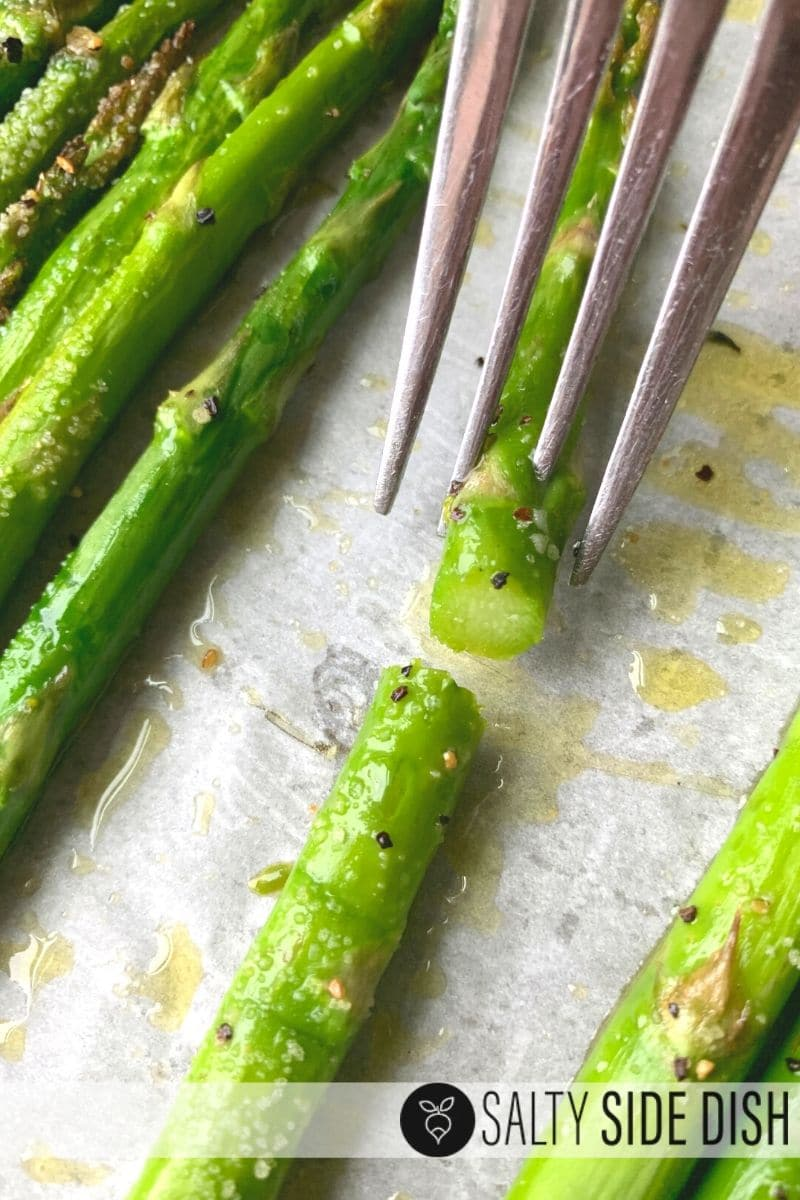 perfect crisp tender asparagus on a low carb diet