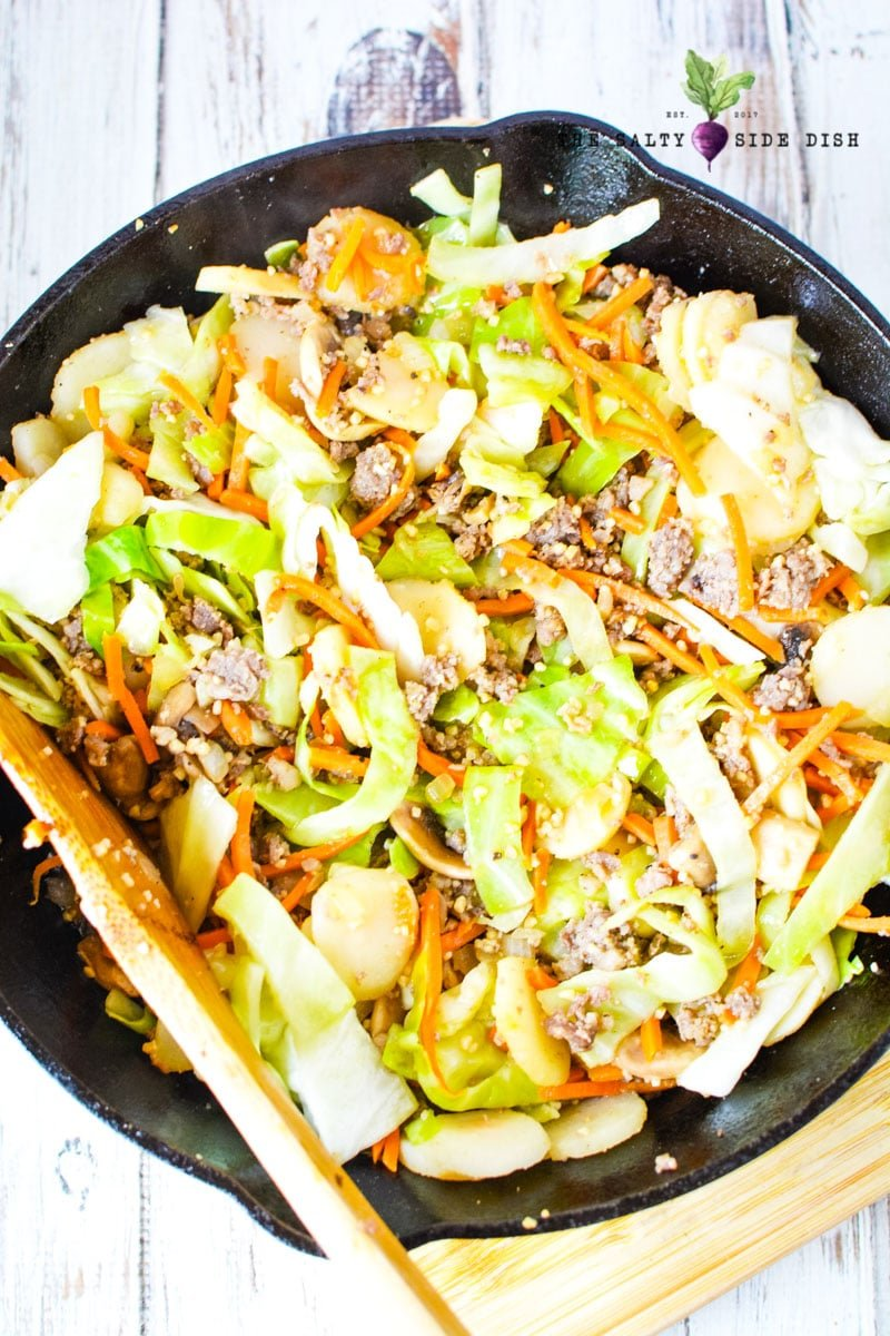 egg roll in a bowl recipe idea