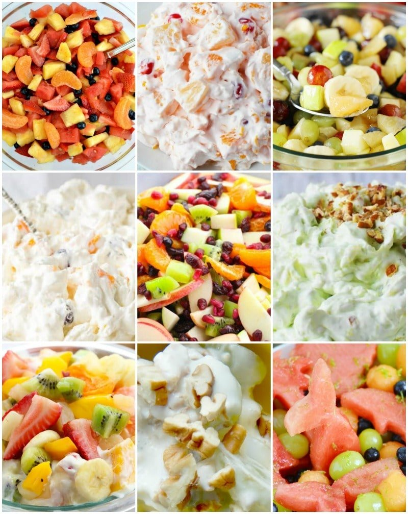 fruit salad side dishes