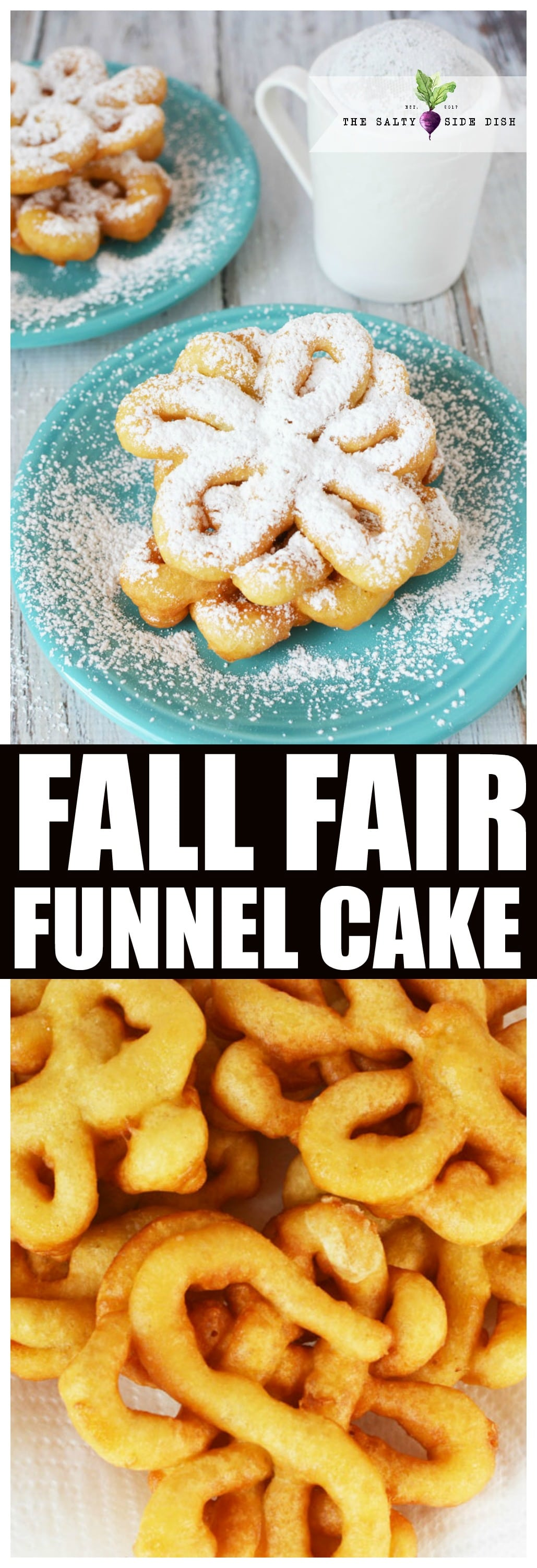 Funnel Cake Recipe Salty Side Dish