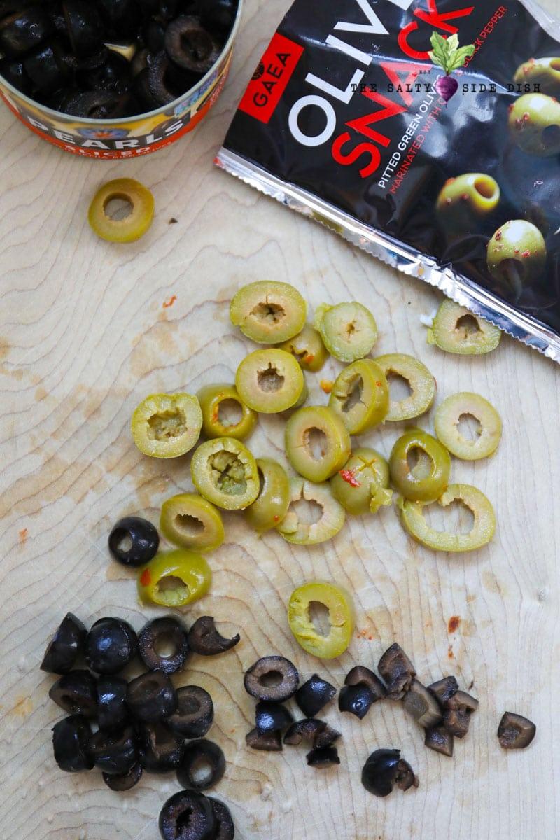 olive eyeballs