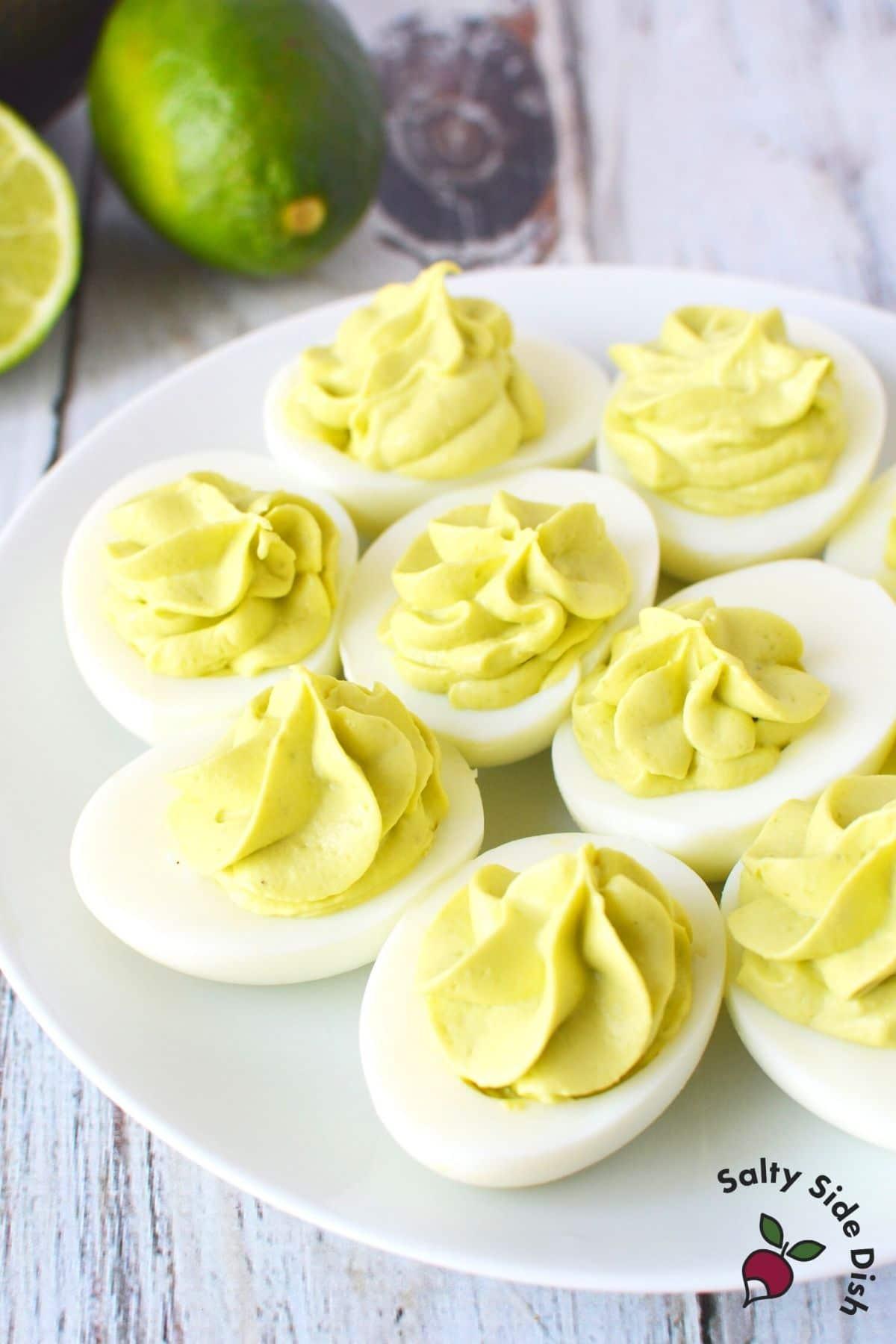 keto eggs on a plate