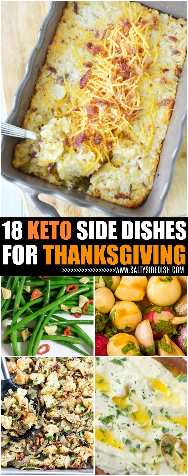 18 Delicious Keto Thanksgiving Sides