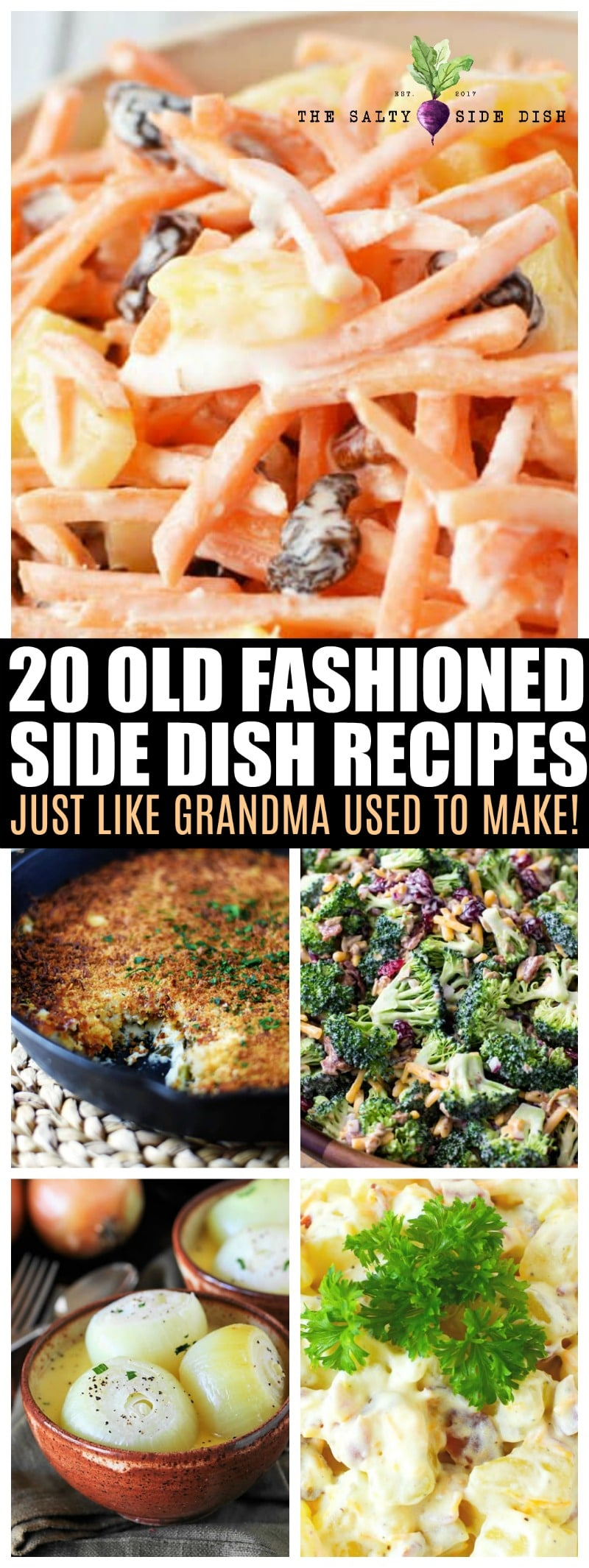 old fashioned side dish recipes