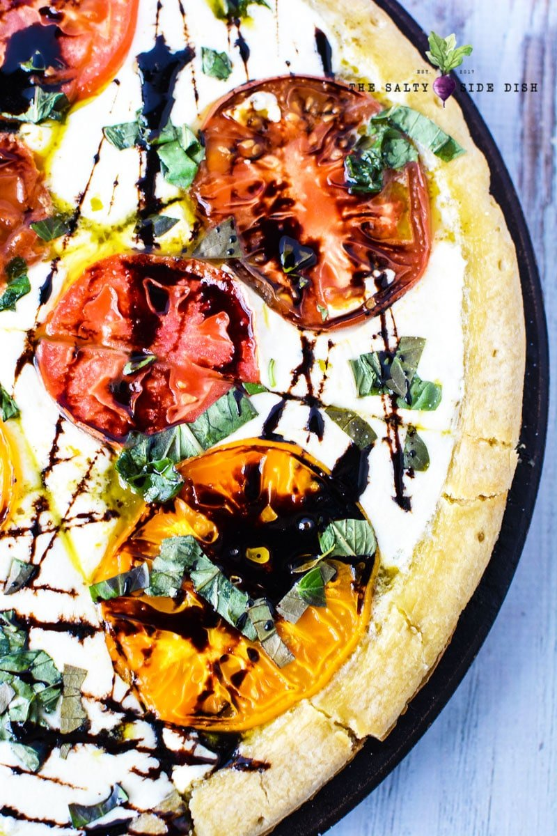 Homemade Caprese Pizza Recipe With Fresh Ingredients