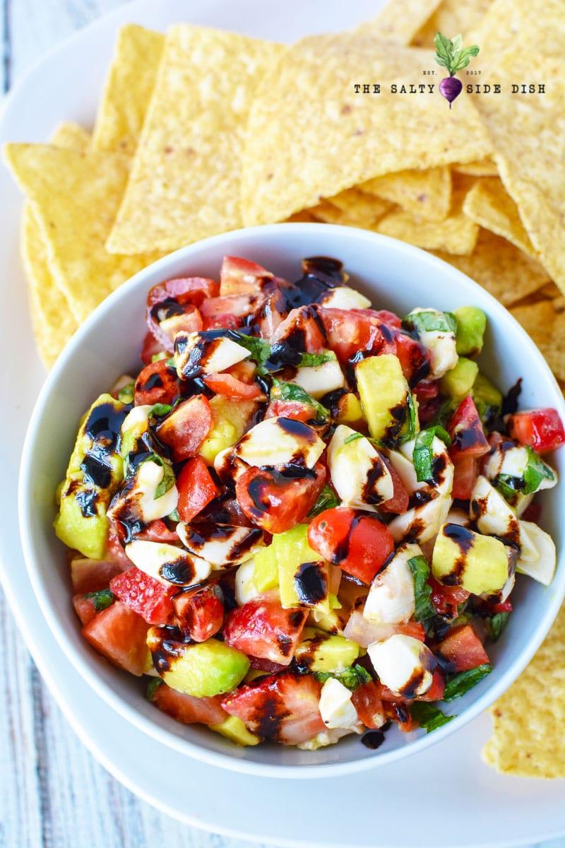 caprese salad dip