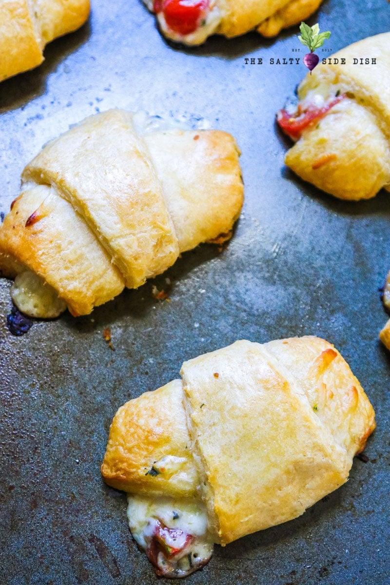 bake your caprese croissants bread