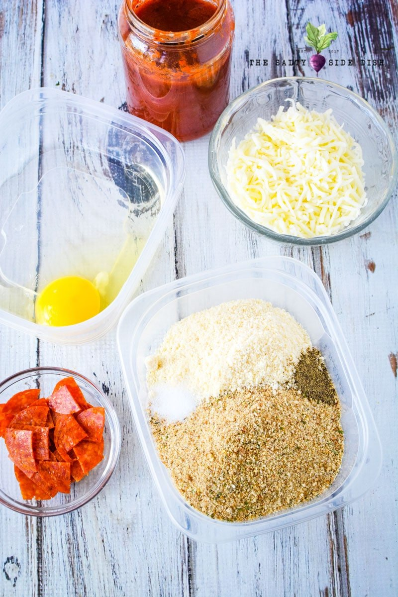chicken pizza ingredients without the crust