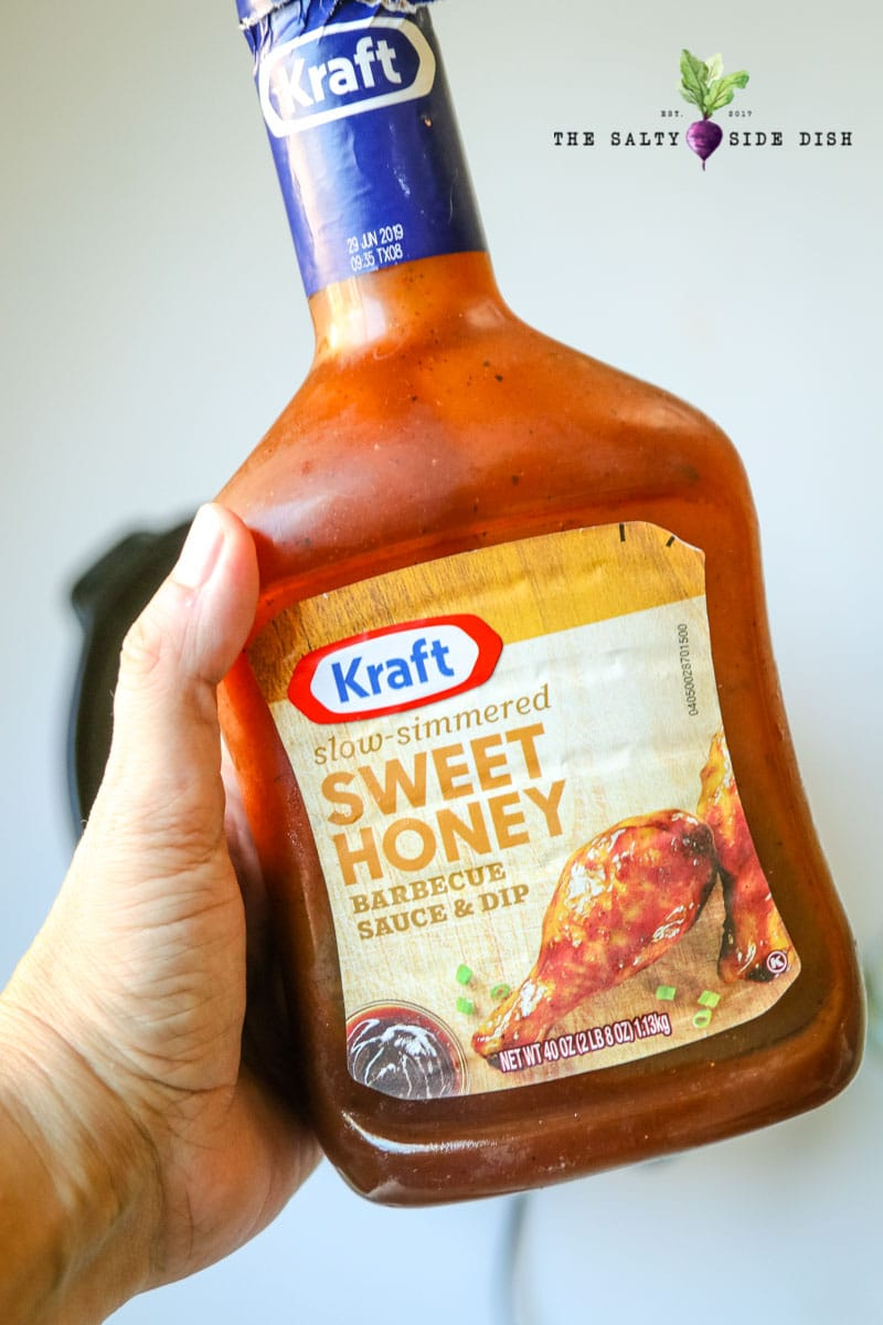 sweet honey bbq sauce in bottle for Hawaiian chicken