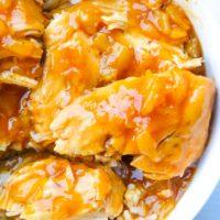 Pineapple Chicken   Crockpot Hawaiian BBQ Chicken