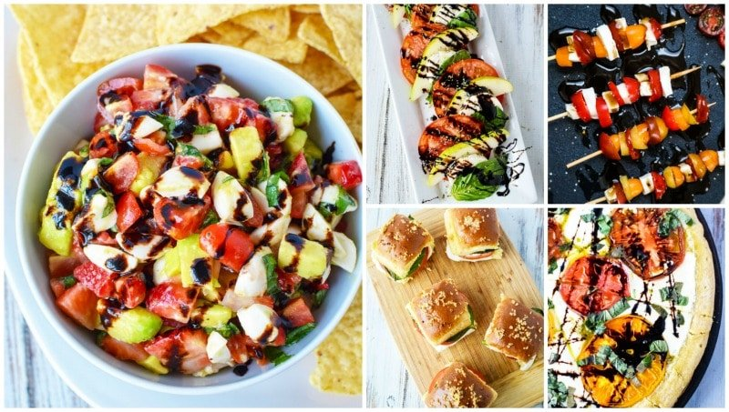 incredible ways to make caprese recipes