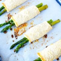 Oven Roasted Asparagus with Parmesan Cheese