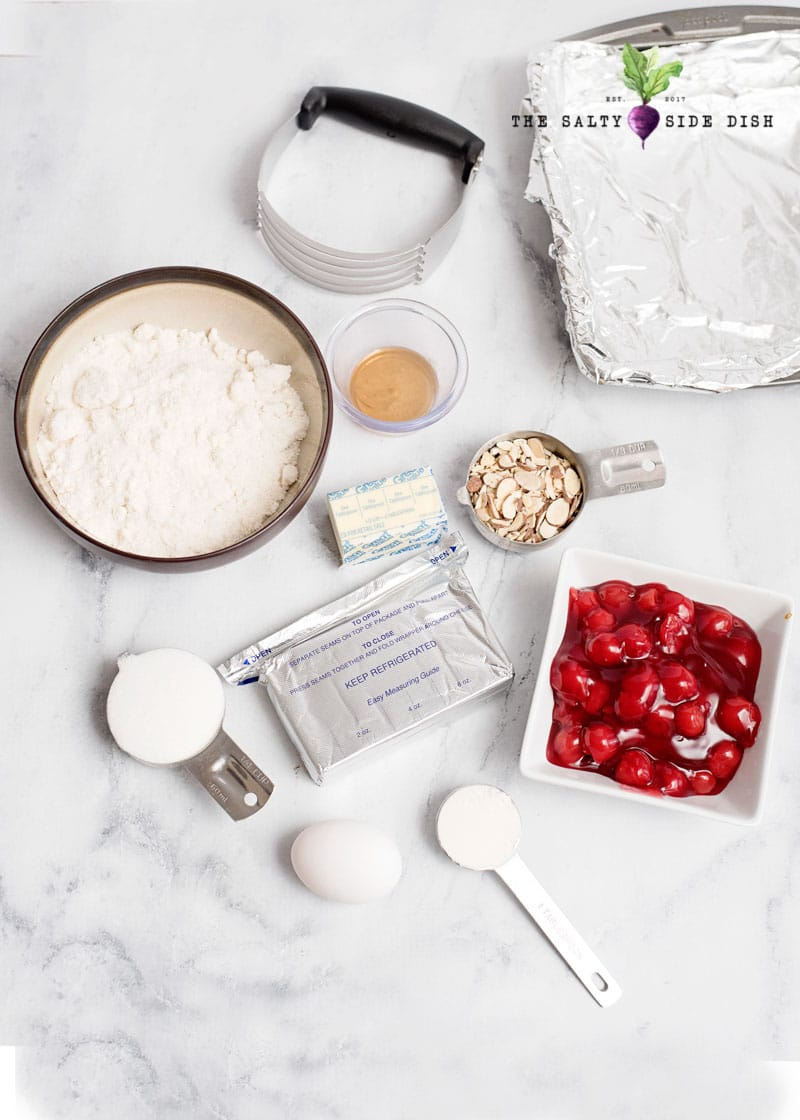 cherry cheesecake bar ingredients