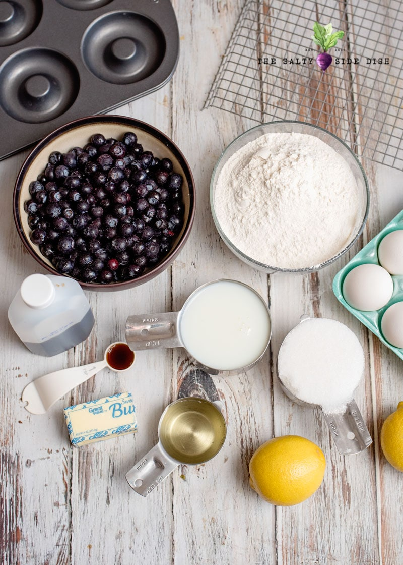 homemade cake donuts ingredient list