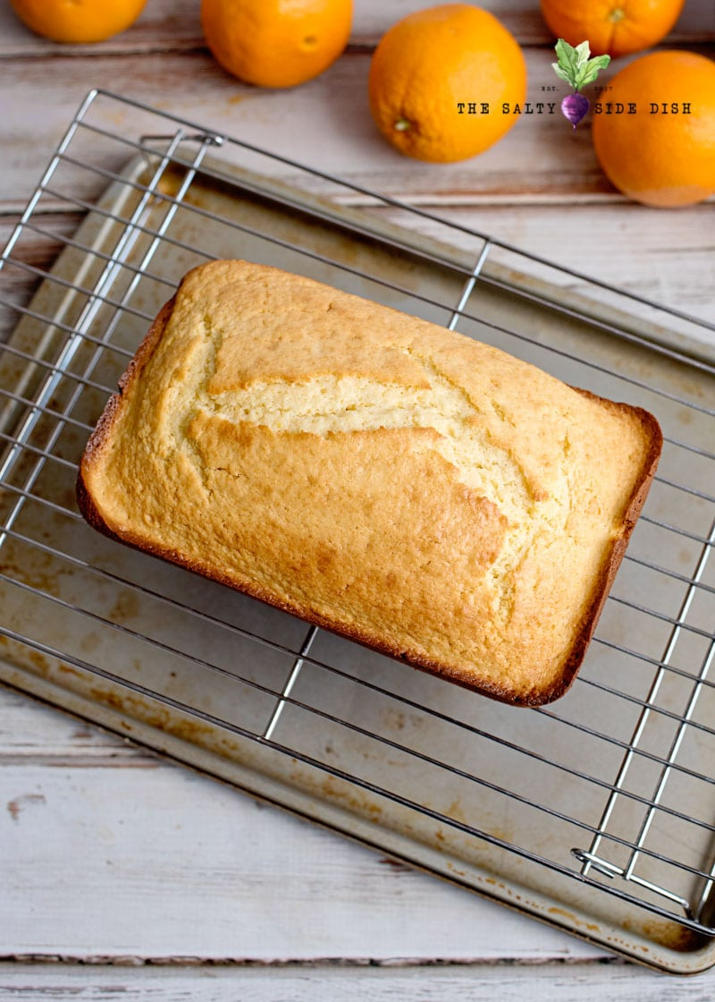 tips to make orange bread wait till its cooled down completely