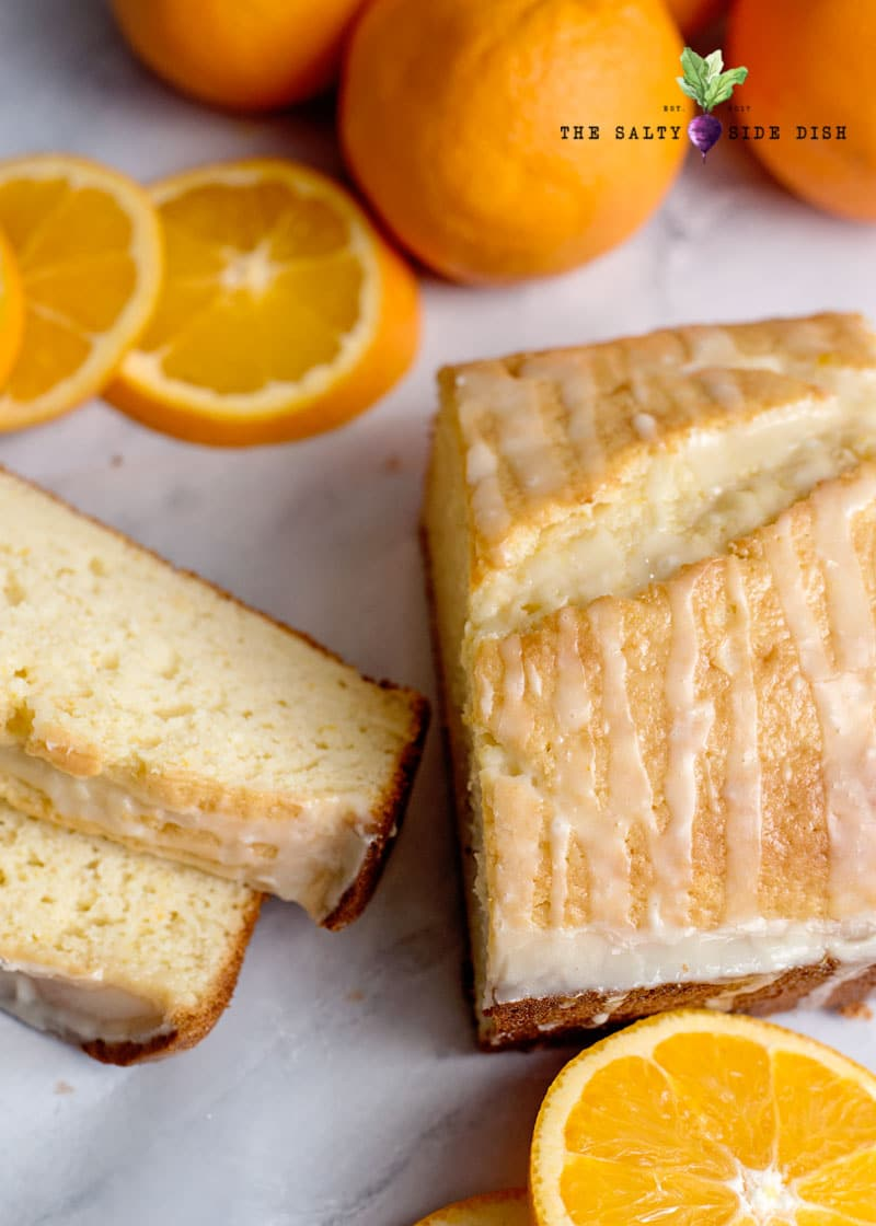 cut orange bread slices