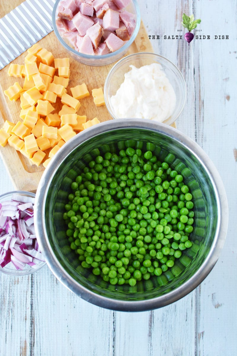 pea salad ingredients