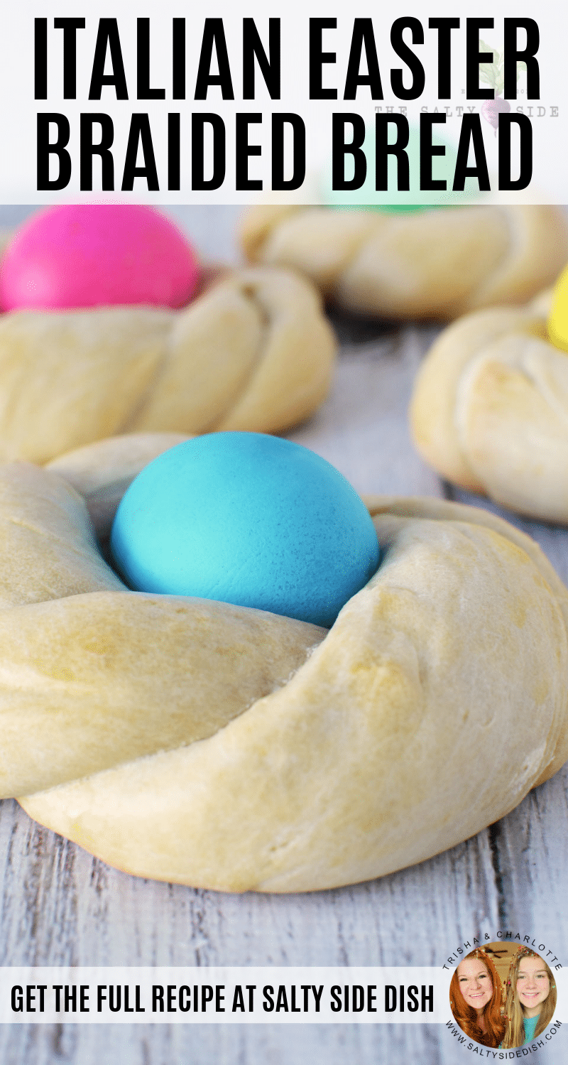 Italian Easter Bread | Sweet Braided Bread Recipe #bread #breadrecipes #easter #braidedbread