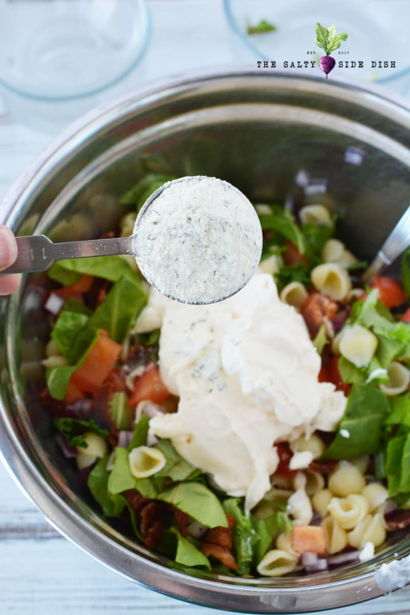 homemade ranch dressing and seasoning