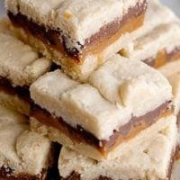 Chocolate Caramel Cookie Bars