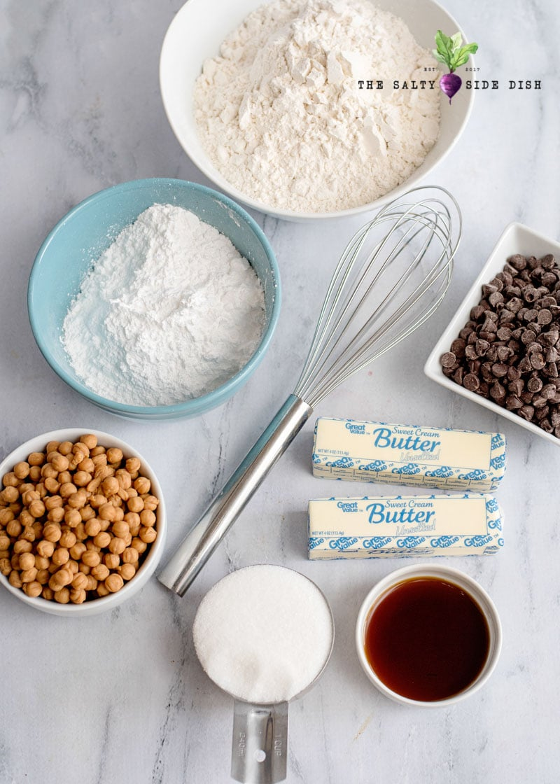easy cookie bar recipe ingredients