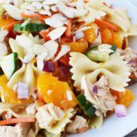 Mandarin Salad with Chicken & Pasta