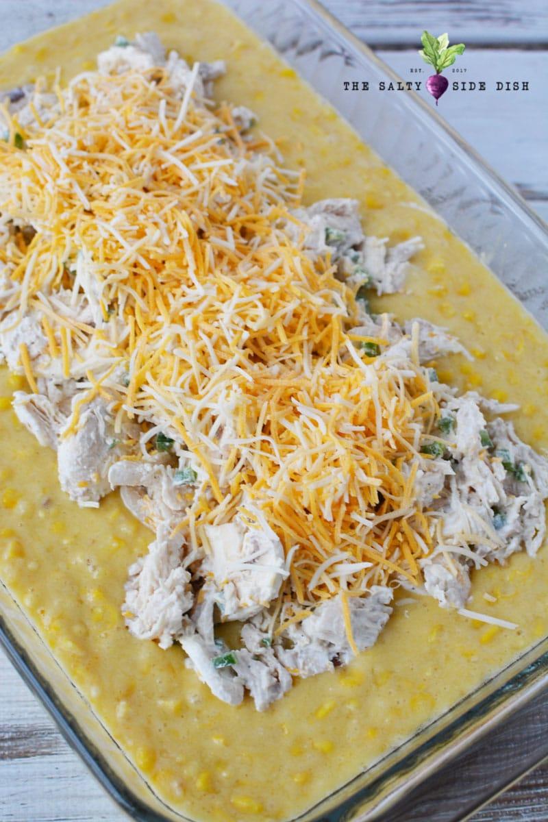 cheese and chicken bake casserole