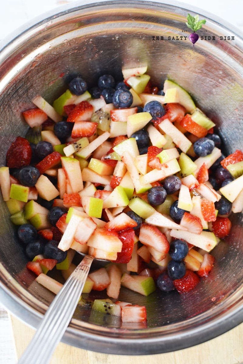 how to make fruit salsa