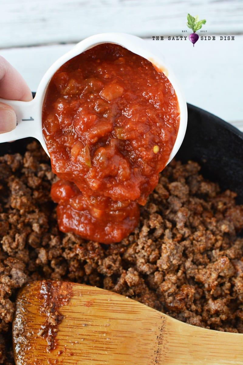 salsa for filling side dish option